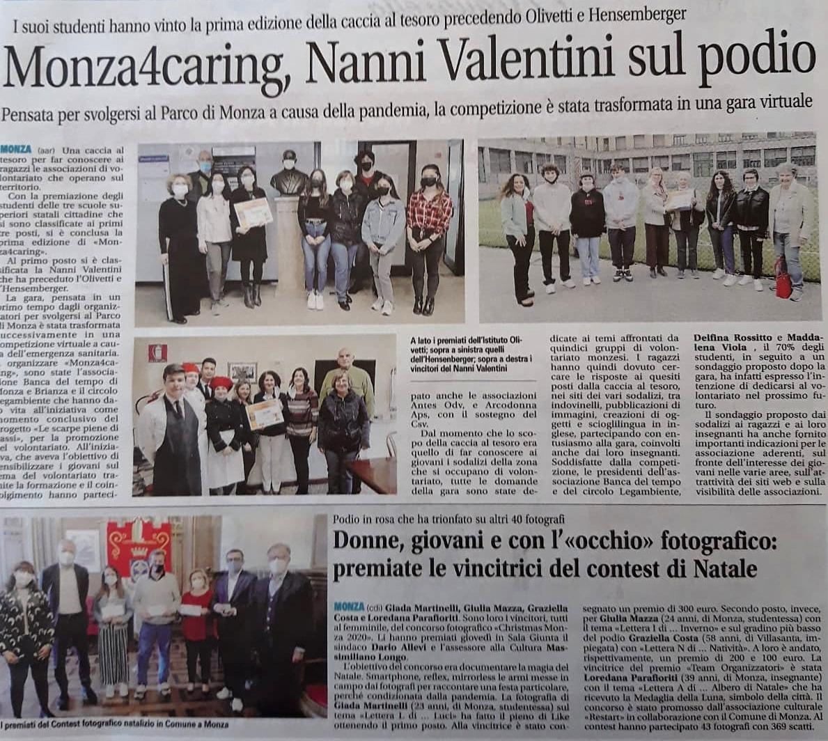 Il giornale di Monza